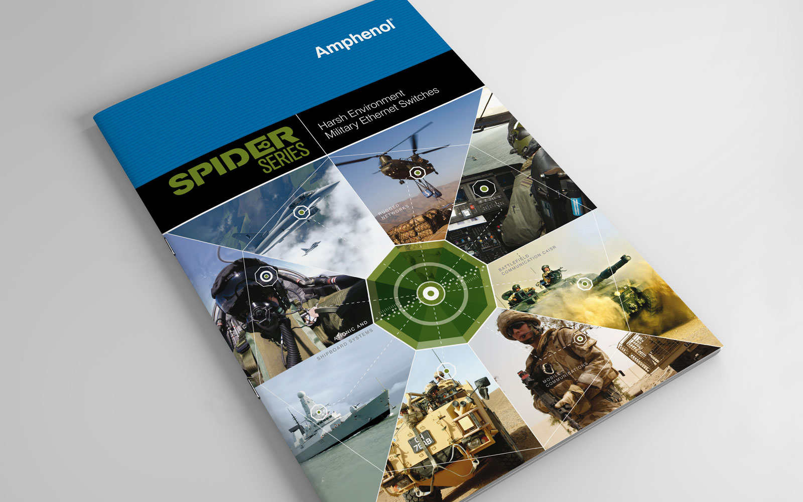 Buzzword creates a series of capability brochures for Amphenol