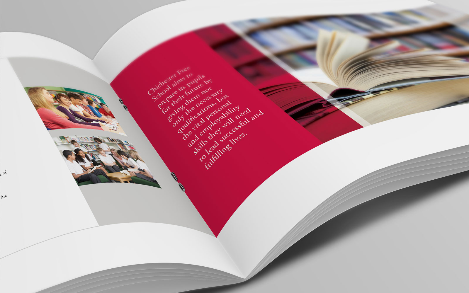 Buzzword designs new prospectus for Chichester Free School