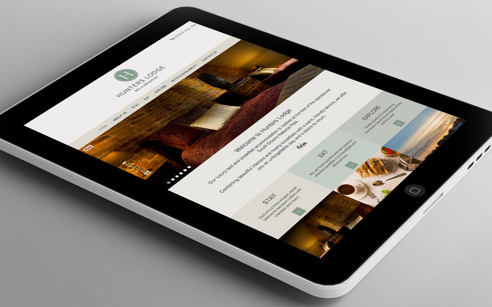 A new website for Hunters Lodge