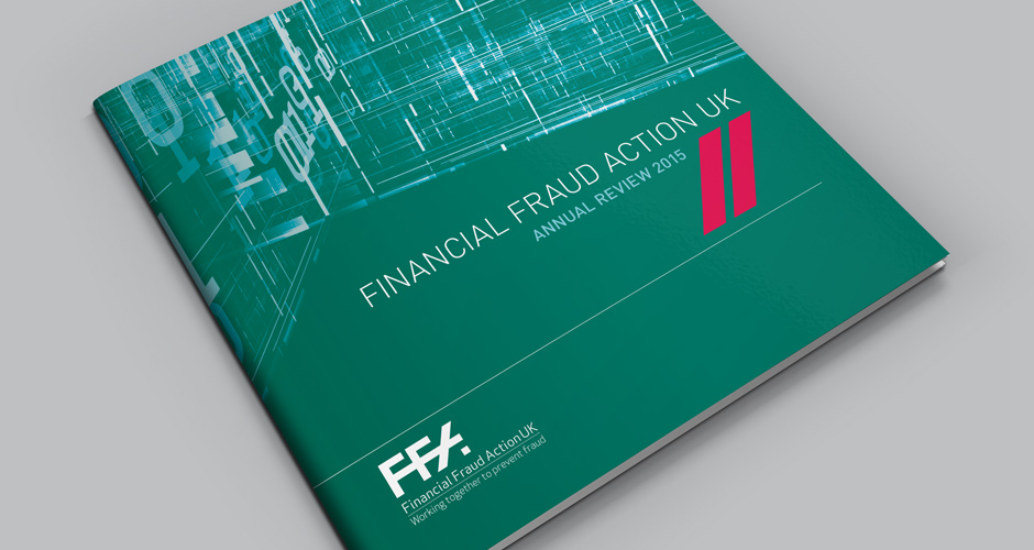 Financial Fraud Action UK print collateral