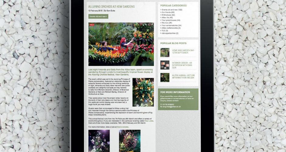 Alitex website