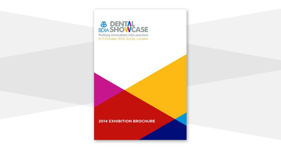 BDIA Dental Showcase brochure