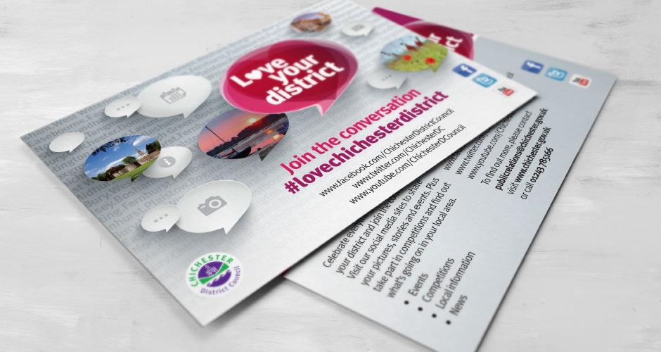 Chichester District Council Love Your District Campaign