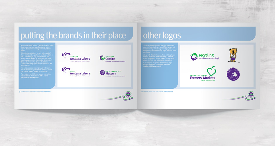 Chichester District Council Brand Guidelines