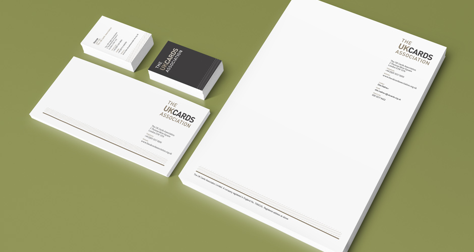 The UK Cards Association Stationery