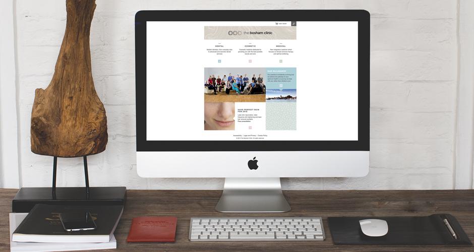 Bosham Clinic Website