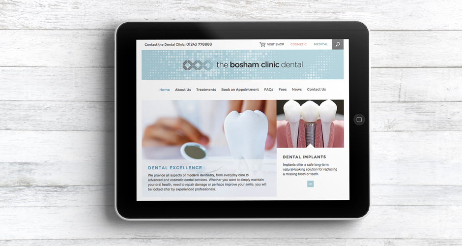 Bosham Clinic Website