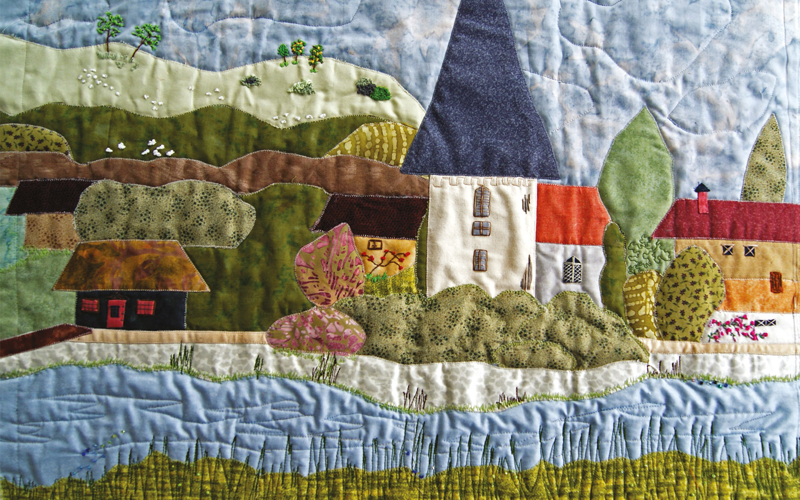 Patchwork Communities at The Novium Museum