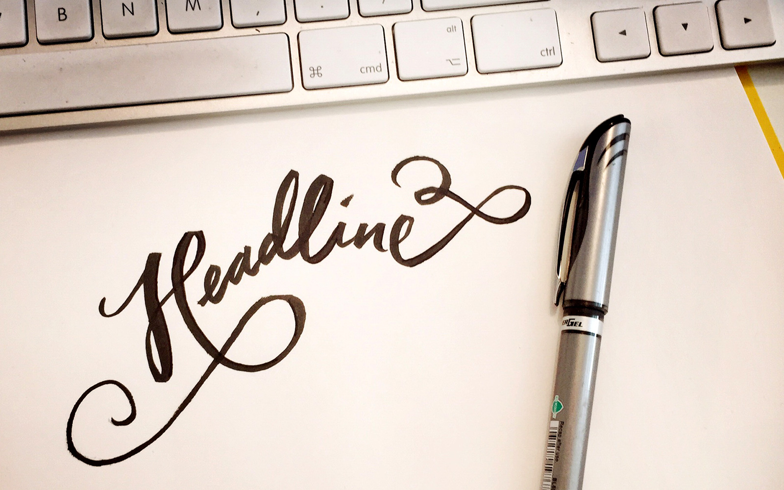 Why I always write the headline first  (& you should too)