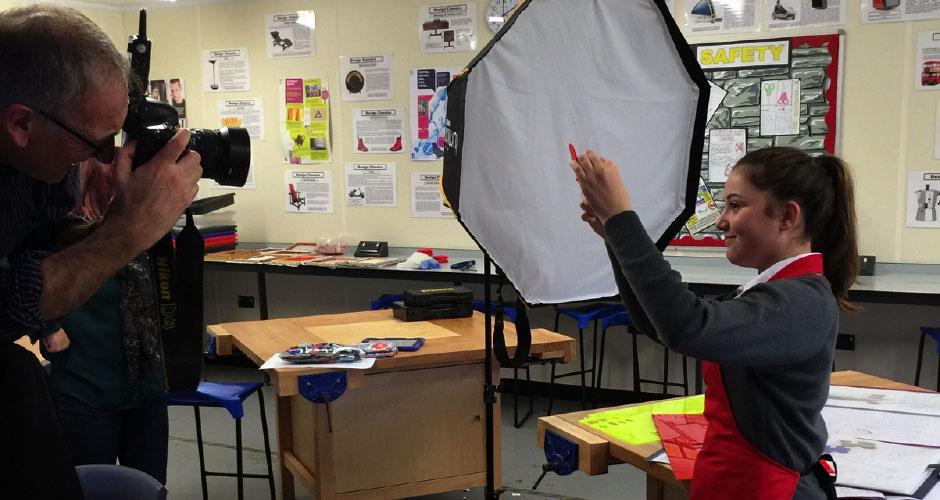 Chichester Free School photoshoot