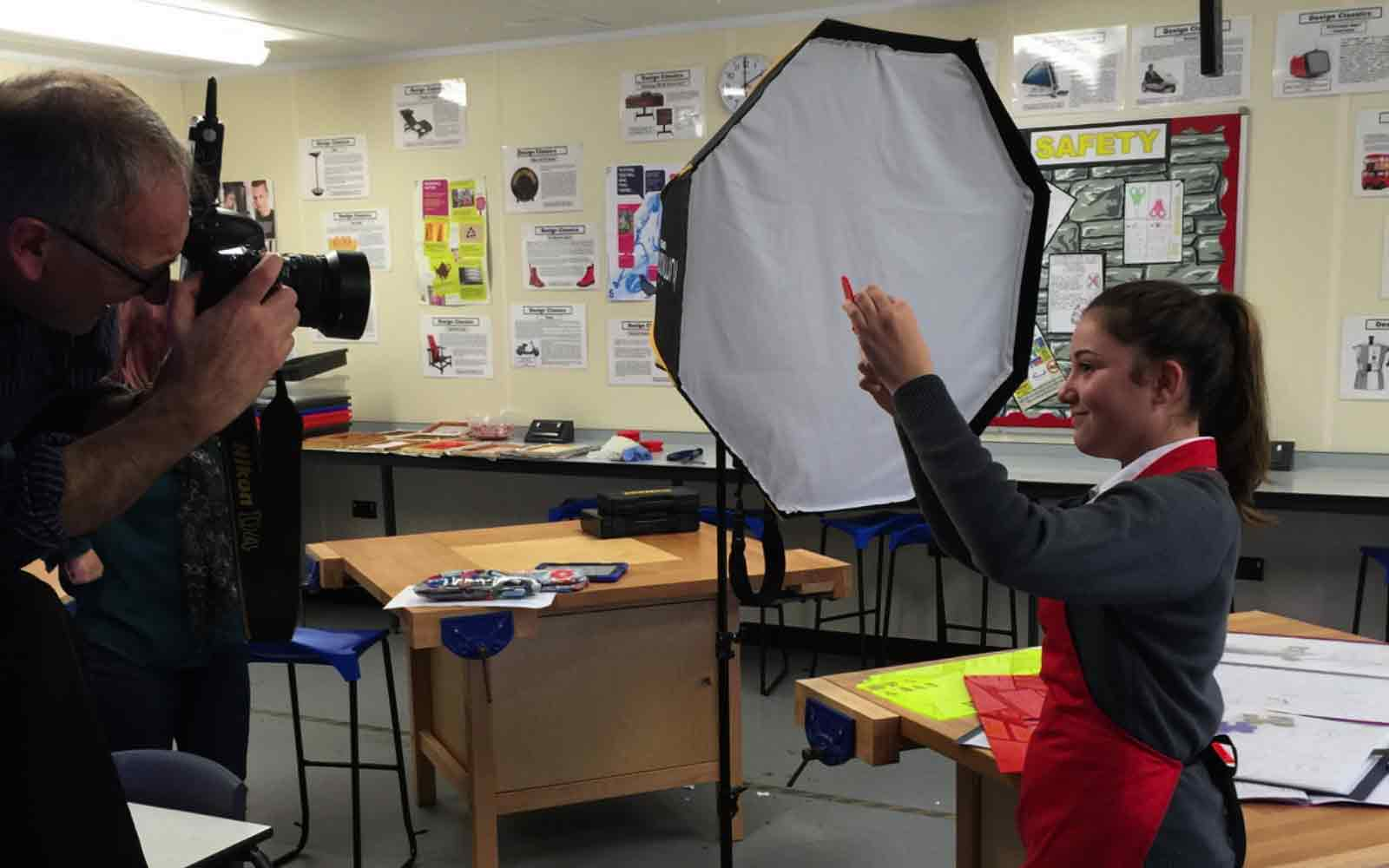 In a class of their own: A photoshoot for Chichester Free School