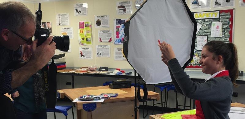 Chichester Free School photoshoot