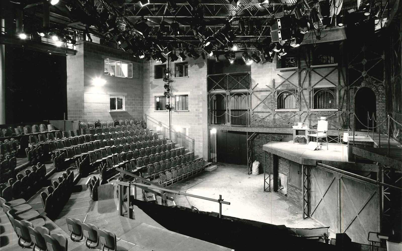 Buzzword wins the Half Moon Theatre's 'Stages of Half Moon' digital archive website project