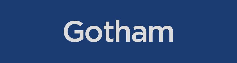 decade of typefaces gotham