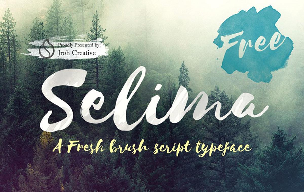 Selima font