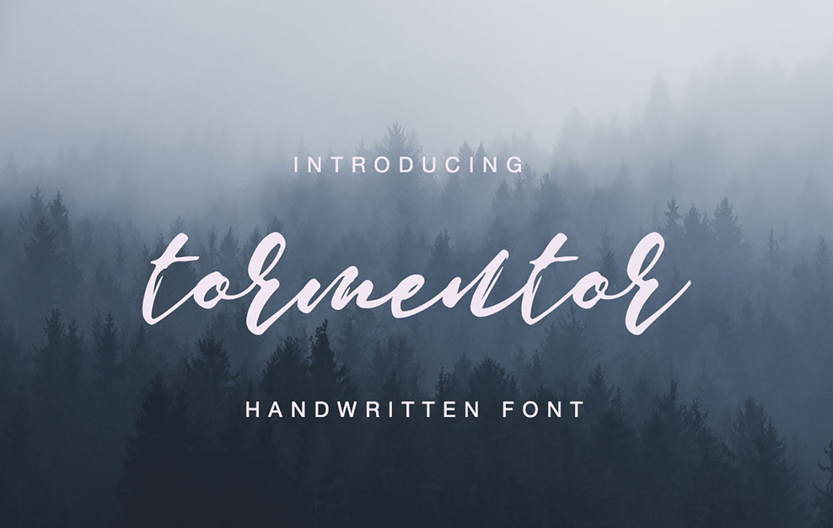 Tormentor font