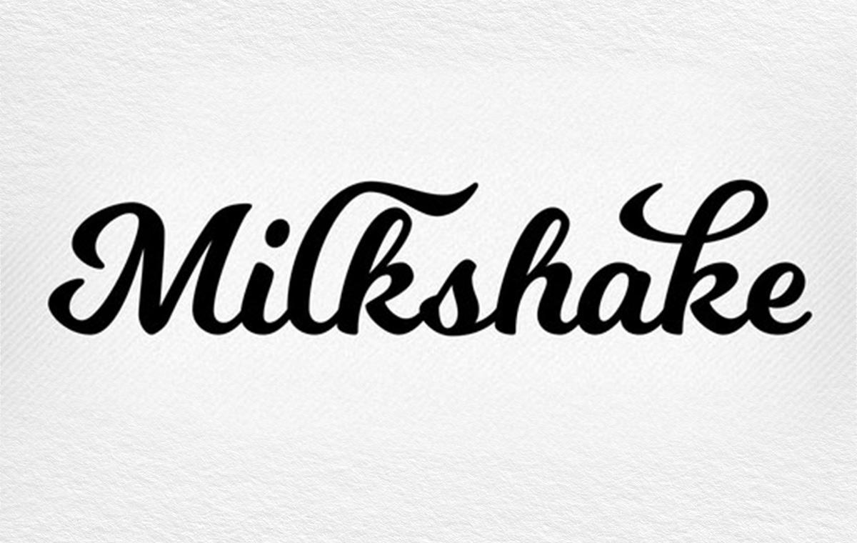 Milkshake font